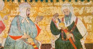 Dos arabes en Kairouan-1