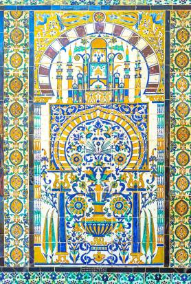 The tiled tracery