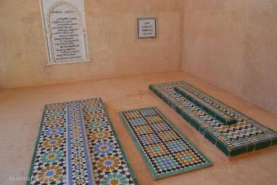 Tumba de Al-Mutamid y su hijo en Agmat-1