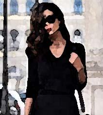 mujer de negro-1-acuarela-2